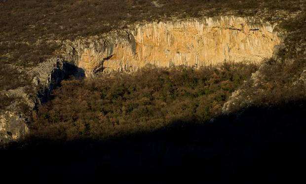 Mišja Peč– jedna z najlepszych ścian na jakich się wspinałem