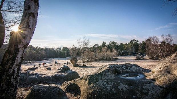 Krajobraz w sektorze Cul de Chien