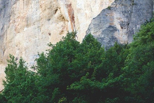 Morze skały w Tarnie, widzicie wspinacza?