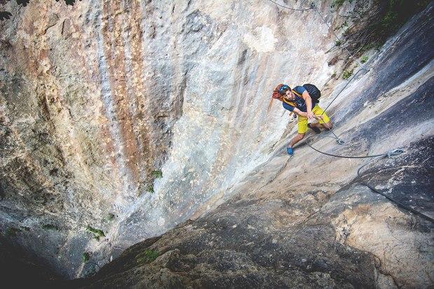 """Maciek na """"ekstremalnym"""" podejściu pod sektor L'Amphi w Tarnie"""